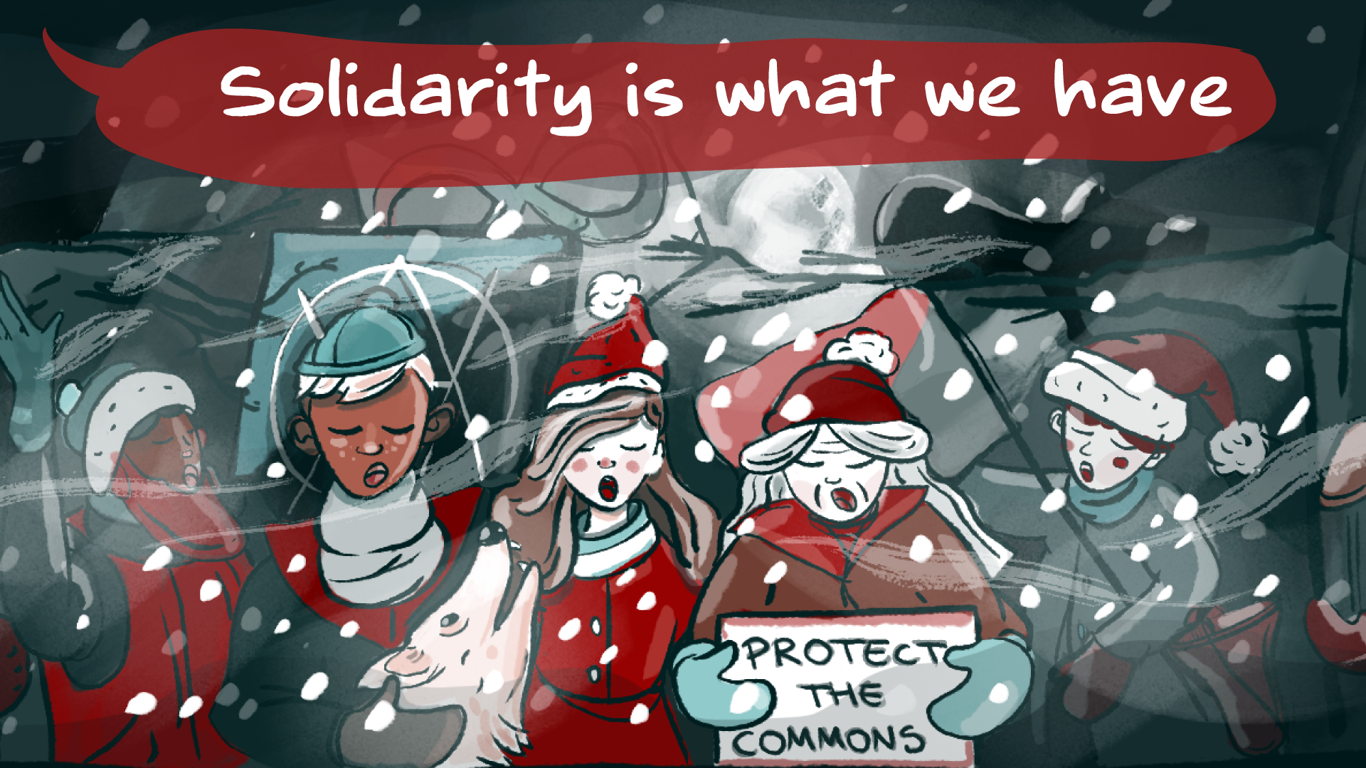 Solidarity is coming to town