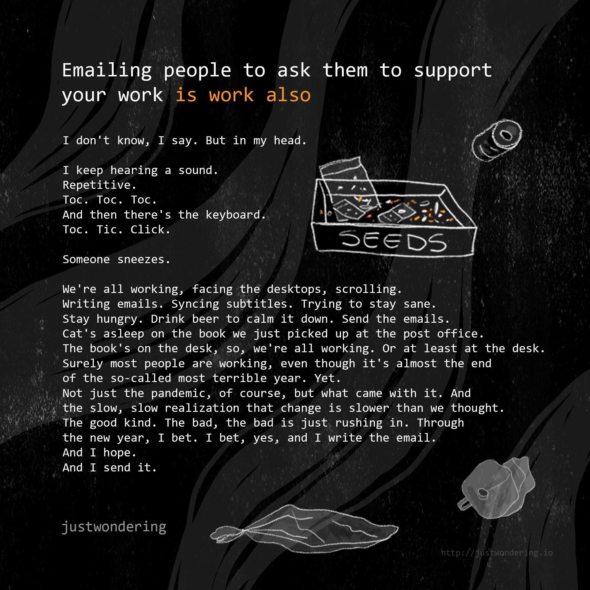 Poem-Emailing people