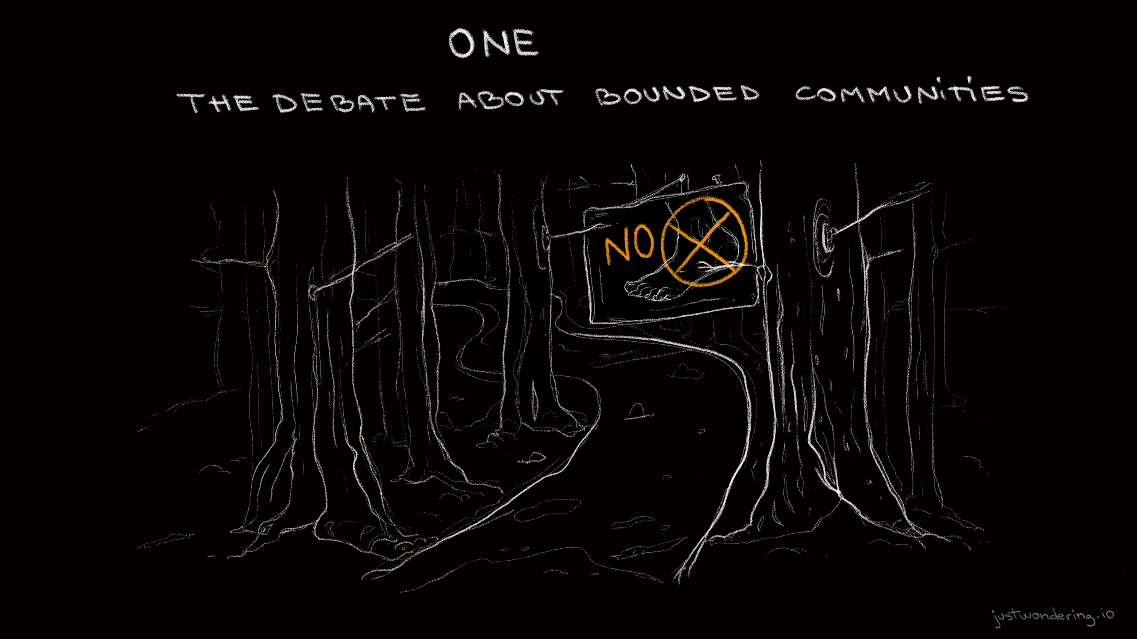 The debate about bounded communities